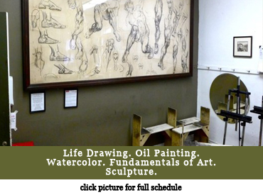 Art Classes - Palette & Chisel, Chicago
