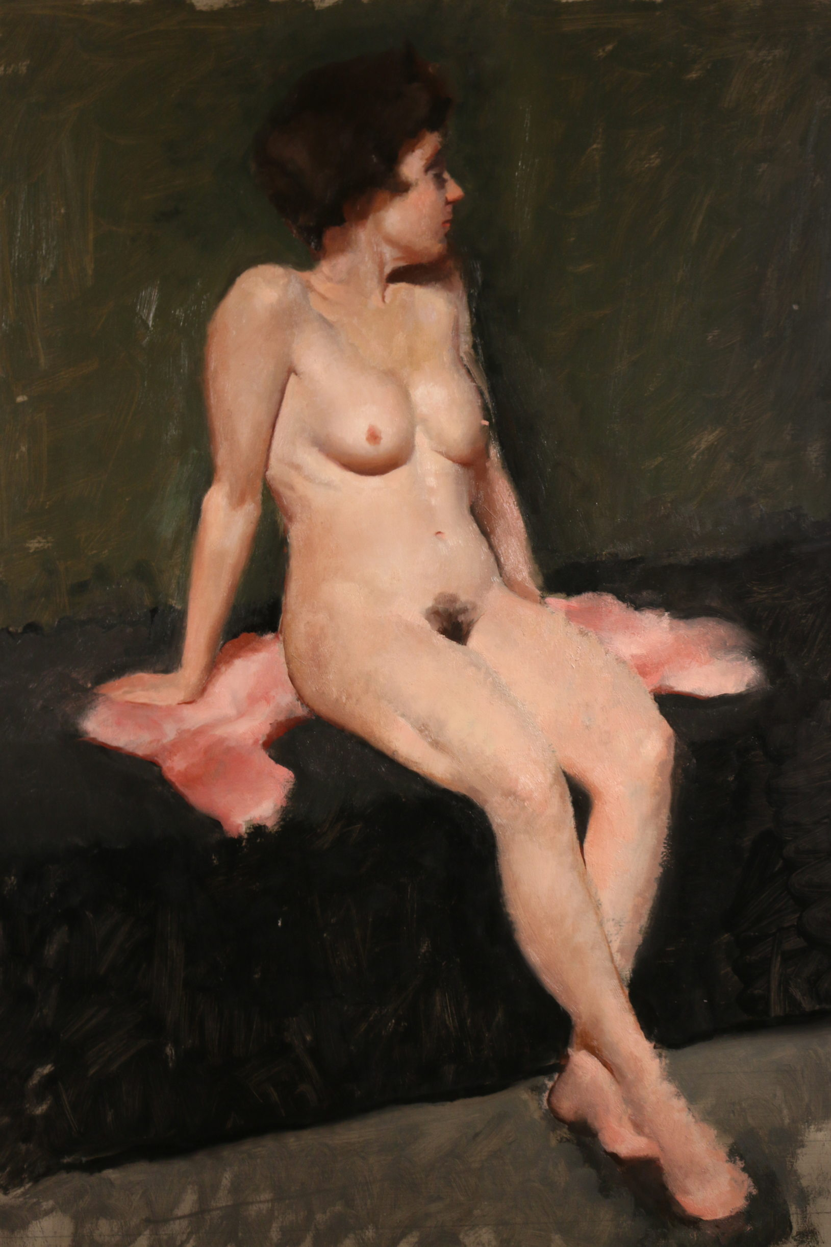 AndrewConklin_Seated Nude