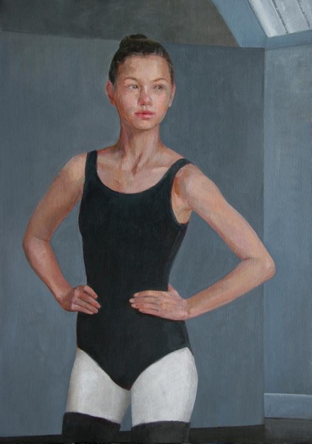 HelenOh_Portrait of August_acrylic on canvas