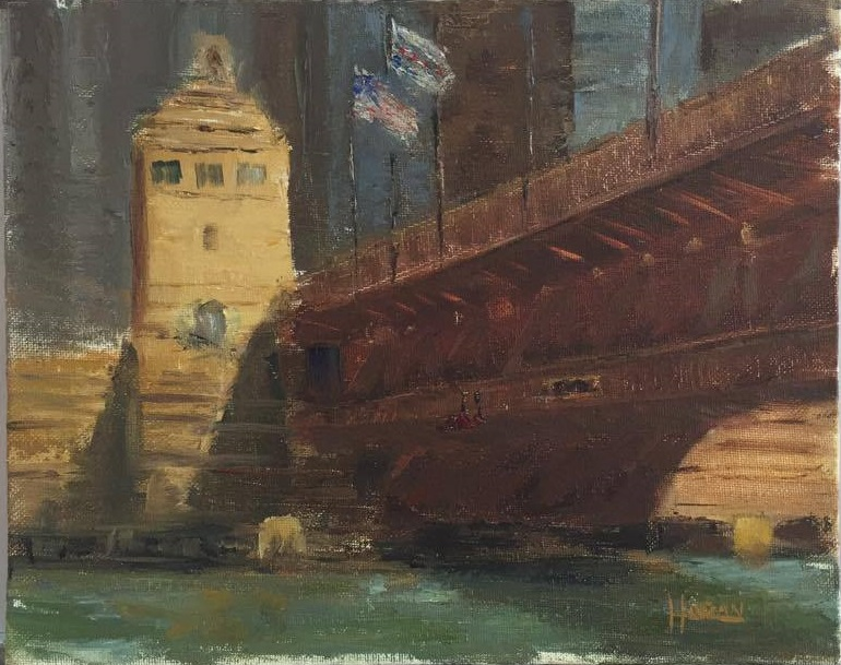 Kraig Hogan Chicago River Bridge