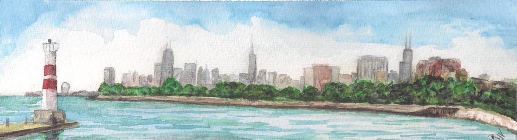 Ray V skyline